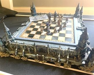 Guardians of the fortress chess game