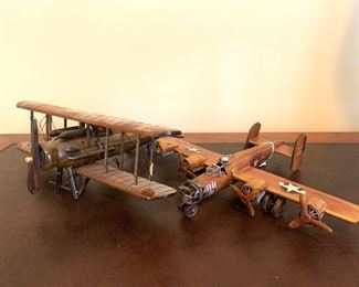 tin planes (reproductions)