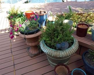 Ceramic Outdoor Pots