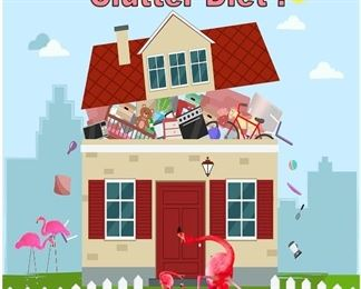it's time for the clutter diet ...