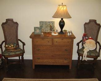 Antique Oak Dresser