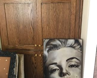 Marilyn in Johnston of all places!