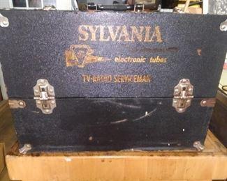 Sylvania Serviceman tube/tool box