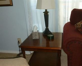 Matching table & lamp