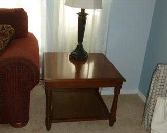 Nice end table & lamp
