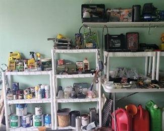 garage, tools