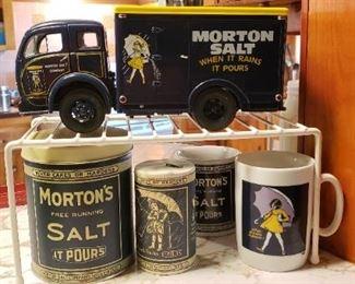 Morton salt collectibles
