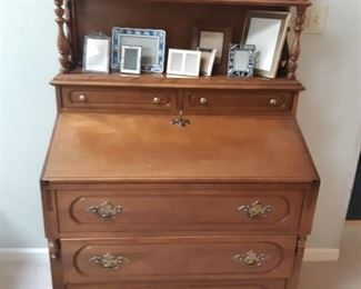 $80.00, Antique Secretary desk
