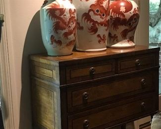 Grand Asian pieces and another fabulous chest of drawers