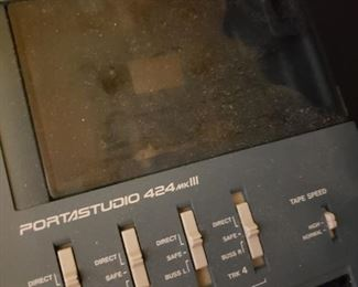$300    Tascam 4 Channel Recorder