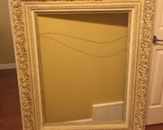 Large open frame (could house a beautiful mirror)