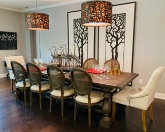 Restoration Hardware Dining Table, 120Lx43Wx30H