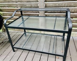Woodard Patio Console Table