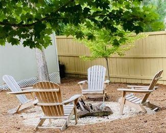 (4) Adirondack Chairs