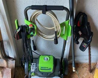 Green Works Pressure Washer