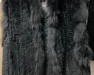 Fur Vest, Size M