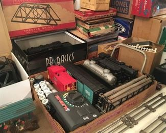 . . . . original Lionel train stuff!