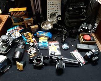 Camera supplies Kodak, Nikon, Konica