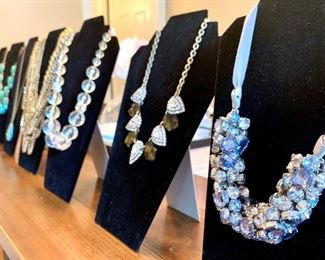 Large selection of cute statement necklaces available at the sale!