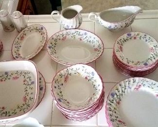 Dinnerware.  Huge set sold by the piece.