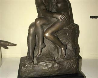 """Alva Studios """"The Kiss"""" after Rodin"""