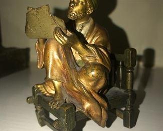 Franz Bergman cold painted bronze