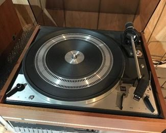 Dual 1219 Turn Table. There is also a Technics SL-DL 5