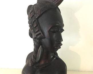 Ebony carving