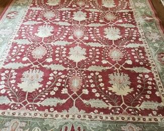 REMOVED FROM SALE BY OWNER - POTTERY BARN KALEEN WOOL RUG - 8' X 10' - BUY IT NOW $475