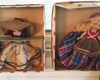 Vintage Collectible Dolls in original box.