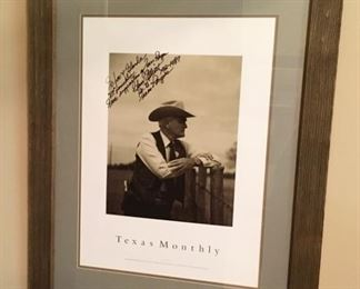 Texas Ranger signed Picture