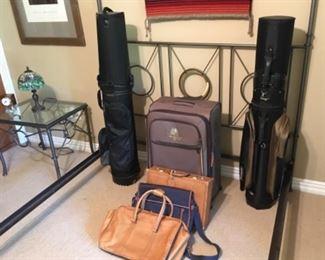 Super Clean travel Golf Bags & luggage.