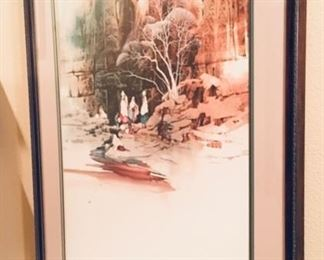 Quality signed Water Color