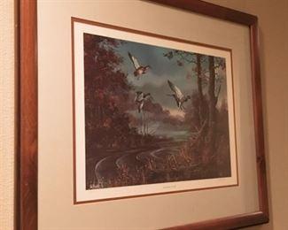 Ted Blaylock Duck Art.