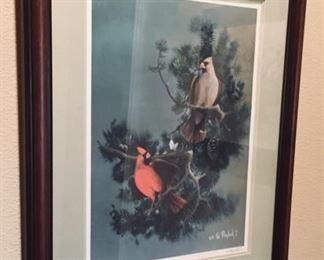 Ted Blaylock Cardinal Art.