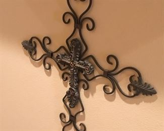 One of several Wall decor Crosses