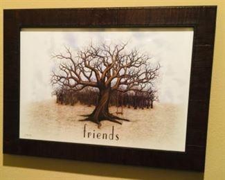 Friends Tree of Life Art