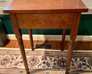 """$125 Vintage table 30""""H x 17""""D x 21""""W"""