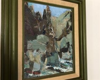 abstract expressionist painting Hazel Rakestraw