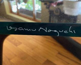 Authentic Noguchi signature