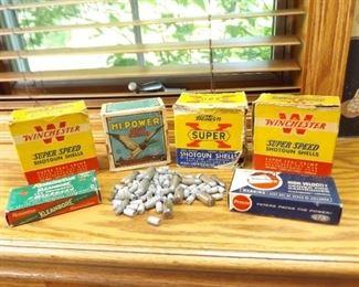 Lot of Misc Vintage Shotgun Shells etc.