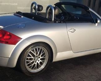 2004 Audi TT Convertible Roadster Car, Auto, Loaded, 112K