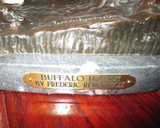 Bronze ~ Buffalo Horse By Frederic Remington