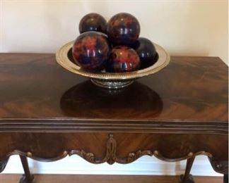 Elegant Carved Table