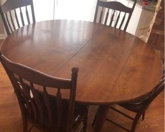 Stickley Cherry Table Plus Six Chairs