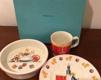 Tiffany Porcelain Childs Set