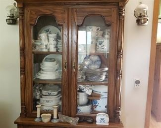 Beautiful solid china cabinet