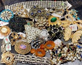 Ready to wear vintage jewelry
