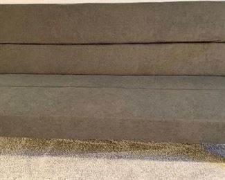 Modern Gray Sofa Couch 68 long x 32d $95