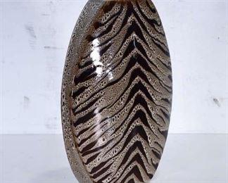 Contemporary Cat Pattern Vase